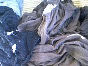 ティッシュも一緒にお洗濯