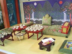 李朝の王様の食卓