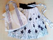 バッグと2WAYチュニックスカート