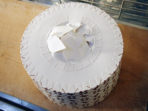キャンドゥ 紙のシフォン型