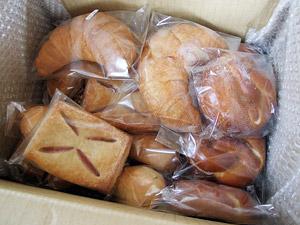 輸入ドイツパンの店フライブルク 到着