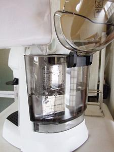 デロンギ エスプレッソ・カプチーノメーカーEC200N 給水タンク