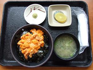 柿崎商店 うに丼 赤カップ(バフンウニ)