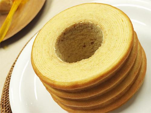 京とうふ藤野「豆乳バームクーヘンのセット」