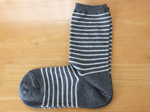 無印良品 新・足なり直角靴下