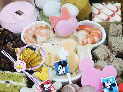 おせち・ウォルト・ディズニー生誕110周年限定セットミッキー 顔型陶器