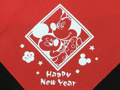 おせち・ミッキーマウス&ミニーマウス 風呂敷