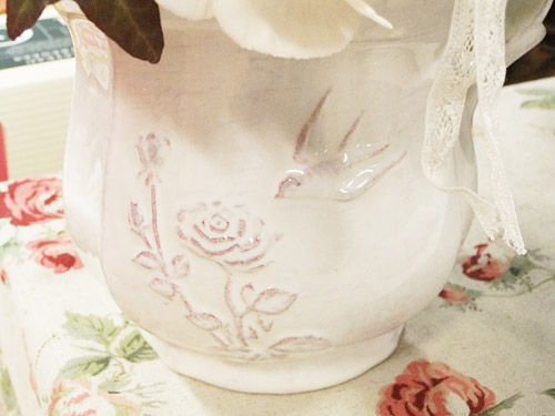 日比谷花壇 ロゼボヌール 花器