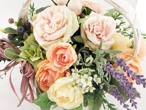 日比谷花壇 アーティフィシャルフワラー「パニエフルール」