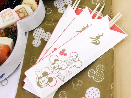 ミッキーおせち2014年 祝い箸