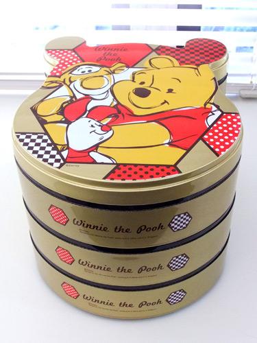 くまのプーさんおせち2014年 重箱