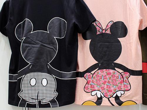 ベルメゾン ディズニーTシャツ ミッキー&ミニー