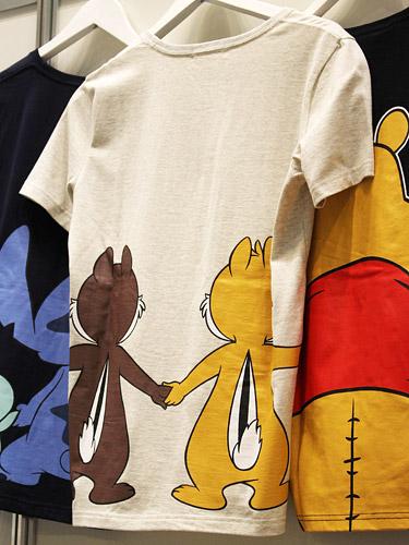 ベルメゾン ディズニーTシャツ チップ&デール