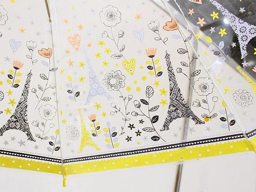 ミニラボ ビニール傘 柄