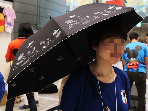 ミニラボ 日傘 サイズ