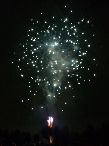 さいたま市花火大会 東浦和 大間木公園会場 1