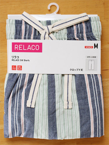 ユニクロ リラコ 綿