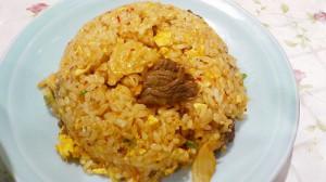 蕨『大味』 牛肉キムチ炒飯