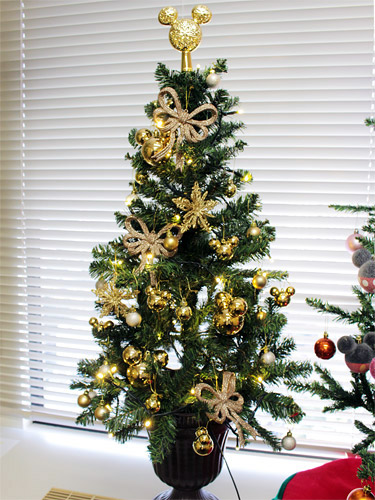ベルメゾン エレガンスゴールドのクリスマスツリー