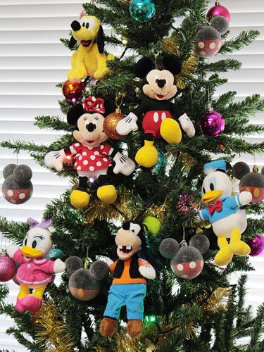 ミッキーフレンズクリスマスツリー ぬいぐるみオーナメント