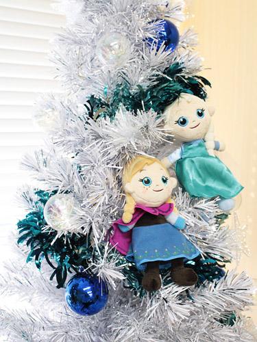 アナと雪の女王 クリスマスツリー ぬいぐるみオーナメント