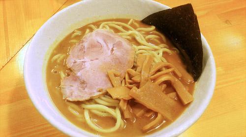 蕨『麺屋 永太』 特製海老スープラーメン