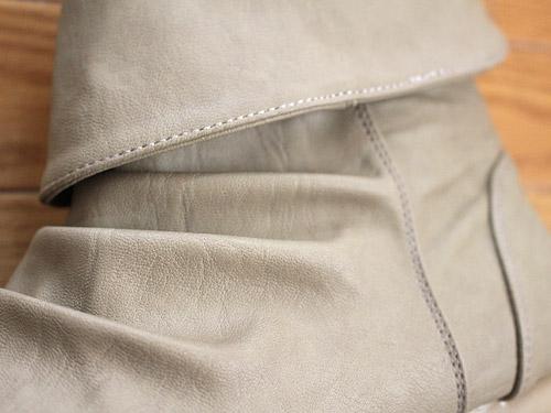 ショートレインブーツ  合成皮革