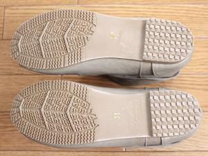 ショートレインブーツ  靴底