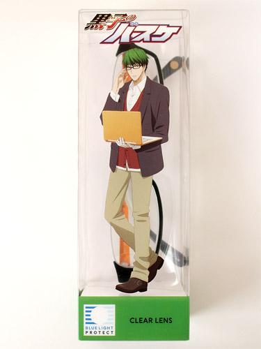 黒子のバスケ×JINS PC 緑間真太郎モデル パッケージ
