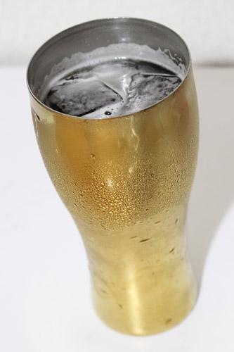 ビール ステンレスタンブラー 水滴