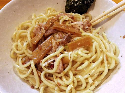 蕨『麺屋 永太』塩油そば 具