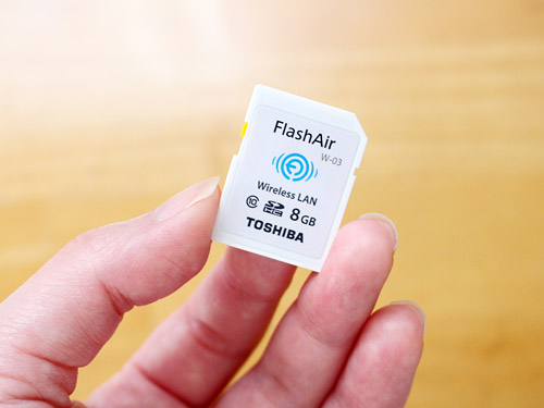 FlashAir W-03 SDカード