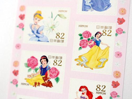グリーティング切手 ディズニーキャラクター 白雪姫