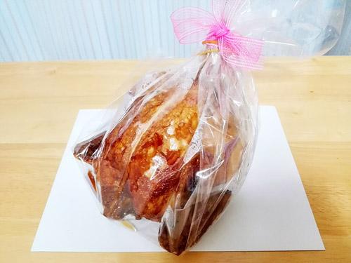 蕨『肉の青木』 丸鶏ローストチキン ラッピング