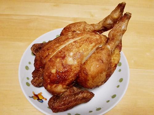 蕨『肉の青木』 丸鶏ローストチキン
