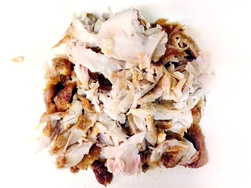 蕨『肉の青木』 丸鶏ローストチキン あまり
