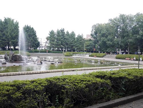北浦和公園 噴水
