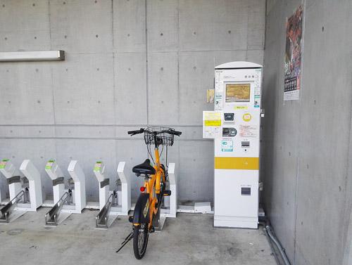 大宮公園 貸自転車 さいたま市コミュニティサイクル