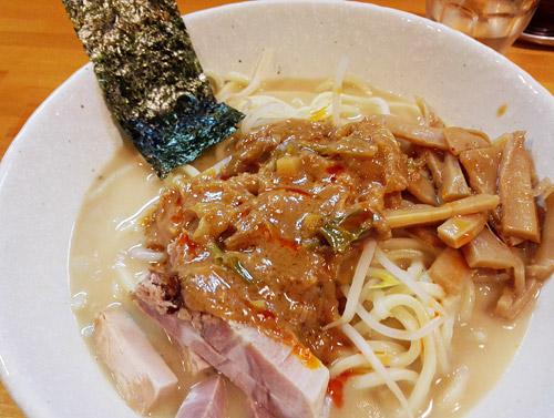 蕨『麺屋 永太』 あんかけ味噌ラーメンの味噌ダレ